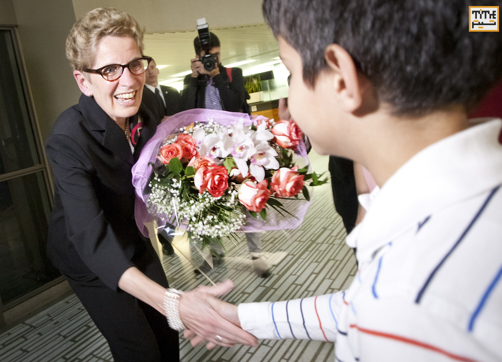 Kathleen Wynne, Premier of Ontario attending annual exhibition of The National Ethnic Press and Media Council of Canada