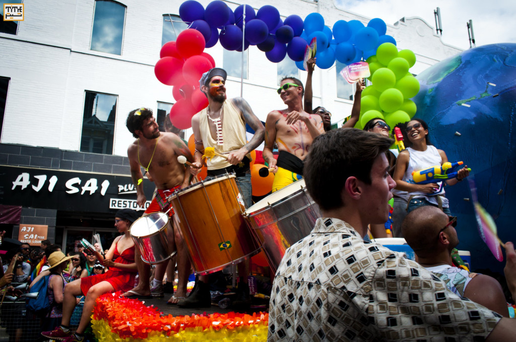 Gay Parade Toronto 2014 - Photo By Helia Ghazi