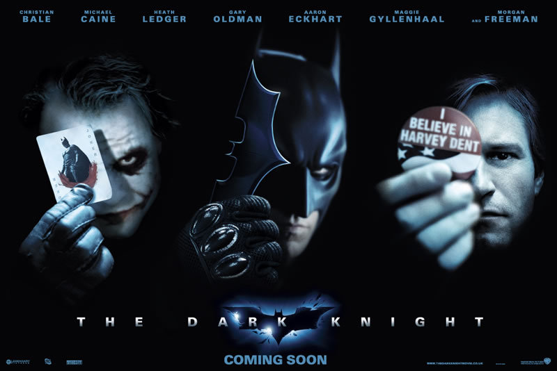 Dark Night - Directed by Christopher Nolan