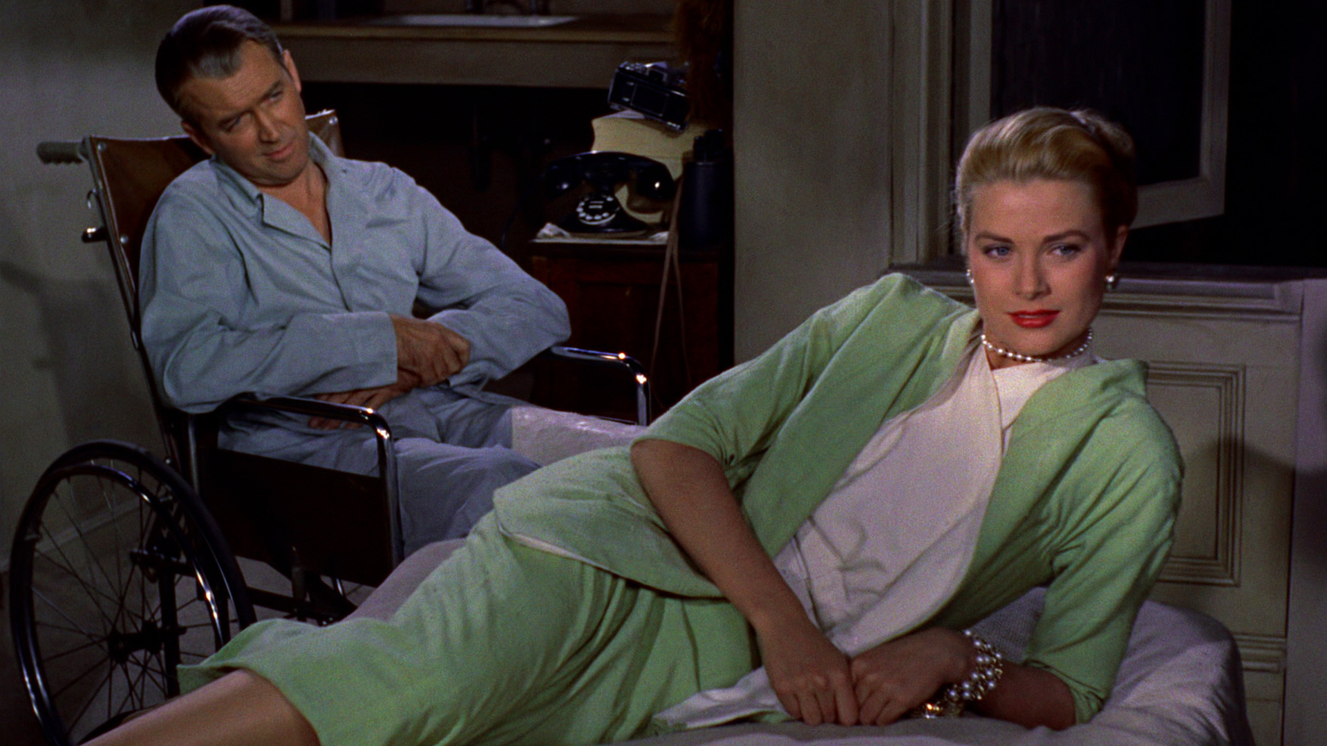 an analysis of marriage anxieties and voyeurism in rear window by alfred hitchcock