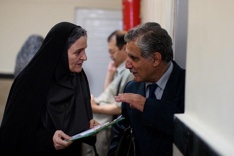 گلاب آدینه به همراه مهدی هاشمی در فیلم قصه ها، کاری از رخشان بانی اعتماد