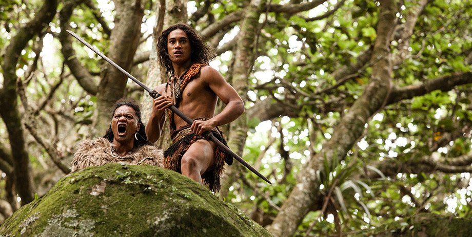 James Rolleston  in The Dead Lands - 2014 TIFF Courtesy of Toronto International Film Festival Courtesy of Toronto International Film Festival
