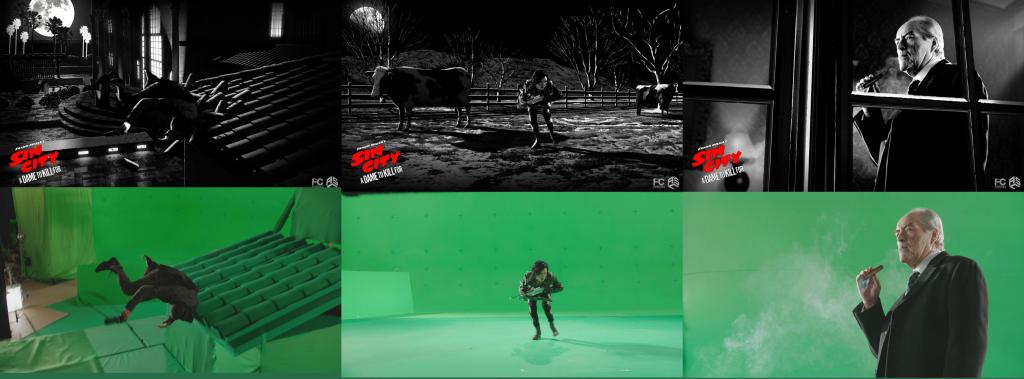 Sin City 2 - Behind the Scene