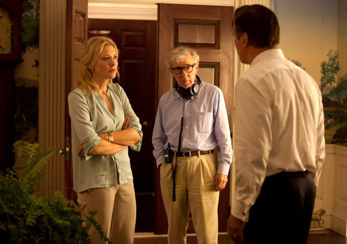 woody allen -  blue jasmine behind the scene - 2013