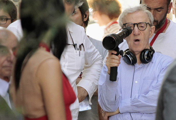 woody allen blue jasmine behind the scene
