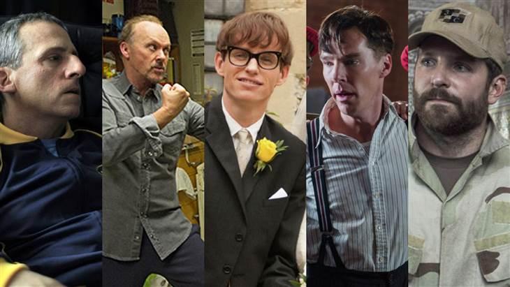 Oscards Best Actor Nominees 2015