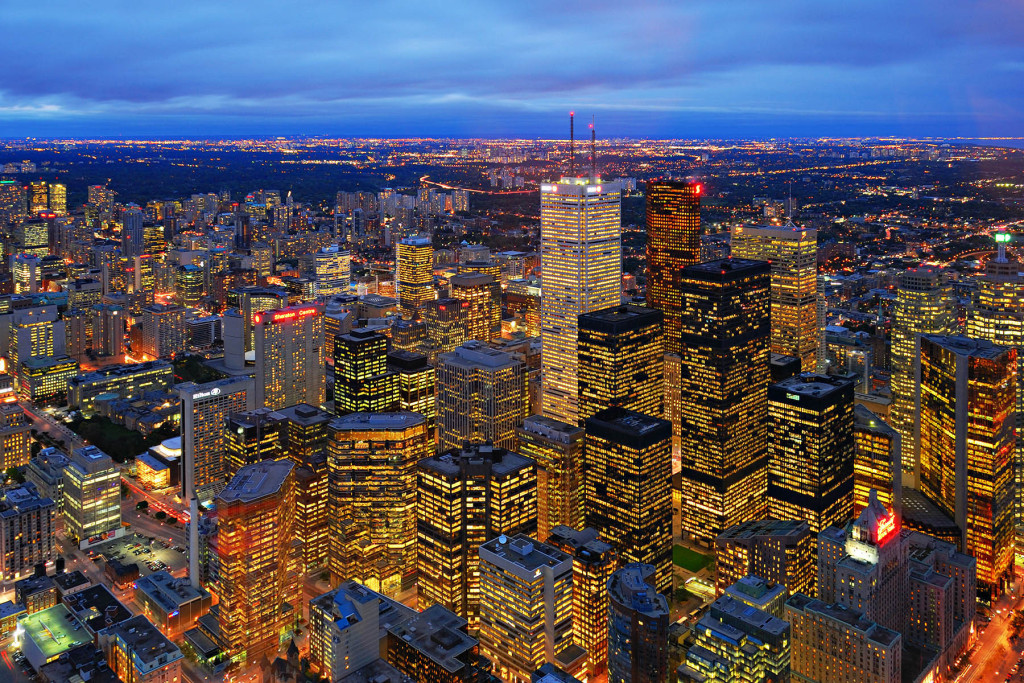 The View from the Top, Toronto, Ontario, Canada