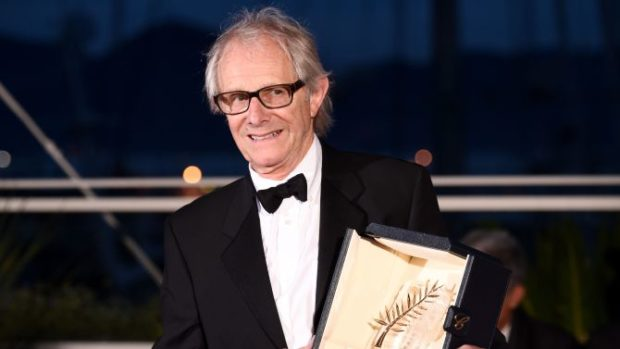 Ken Loach -Palme D'Or Award for- I, Daniel Blake Mandatory Credit: Photo by David Fisher 69th Cannes Film Festival, France
