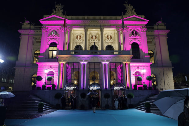 ZURICH, SWITZERLAND - OCTOBER 01:  A general view of the Opera house where the Award Night is taking place during the 12th Zurich Film Festival on October 1, 2016 in Zurich, Switzerland. The Zurich Film Festival 2016 will take place from September 22 until October 2.  (Photo by Andreas Rentz/Getty Images)