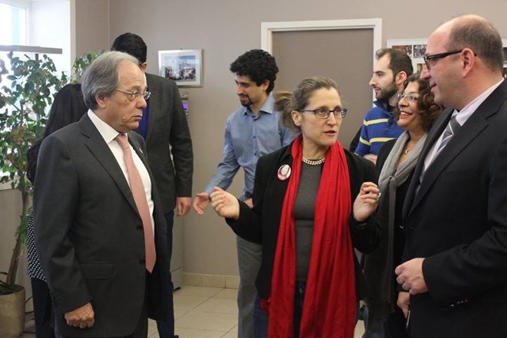 Photo of Canadian Minister visited Parya