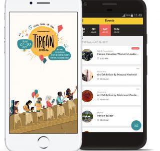 tirgan-app-screens