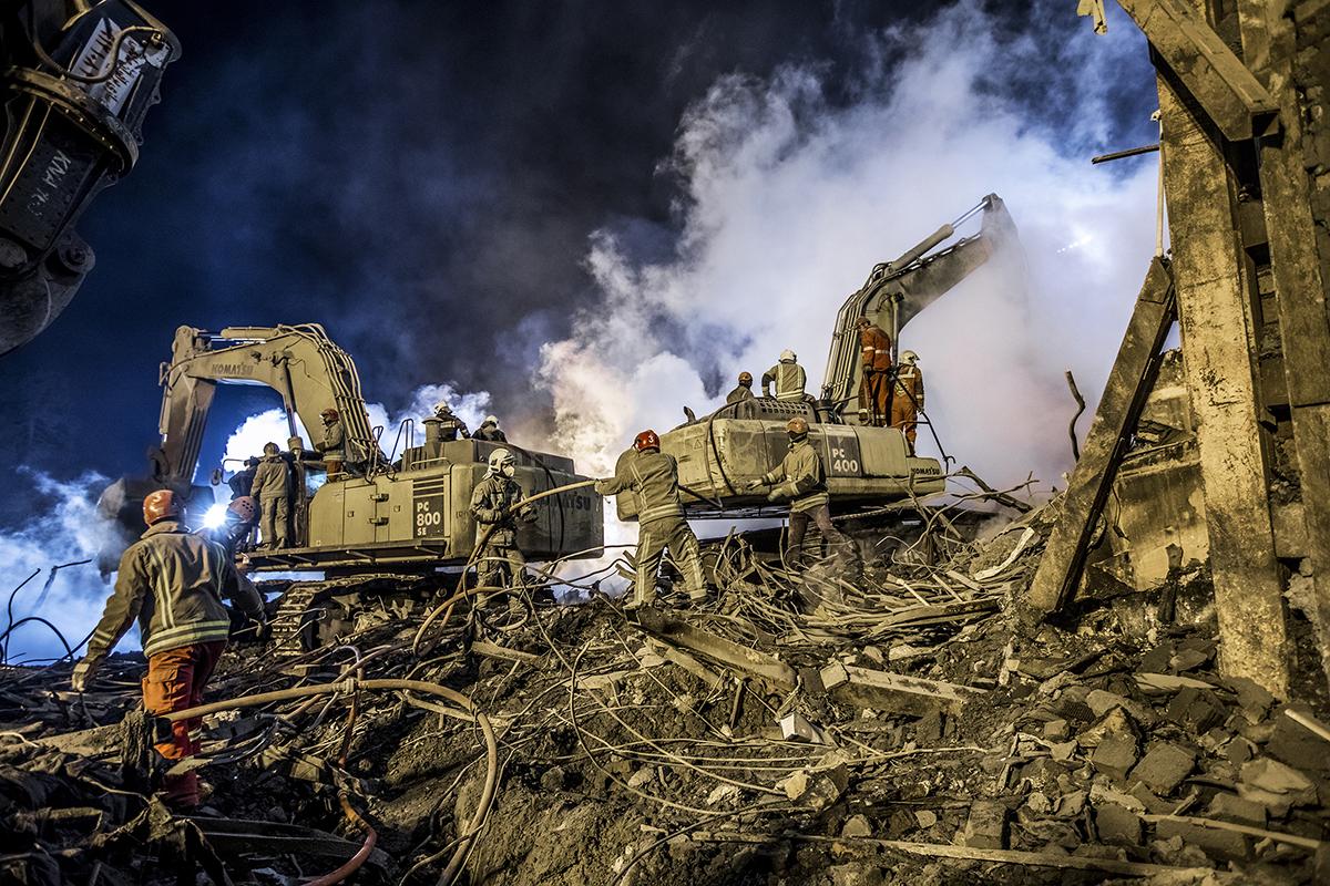 Photo of Plasco Disaster