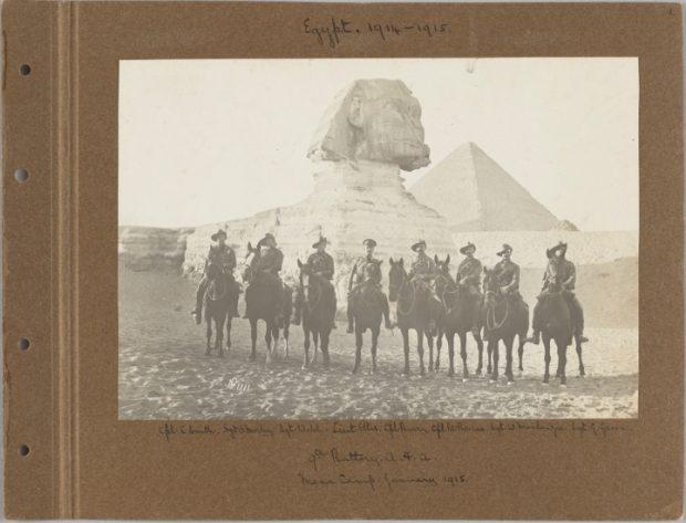 Captain Basil Wood Bourne – Egypt 1914 - 1916