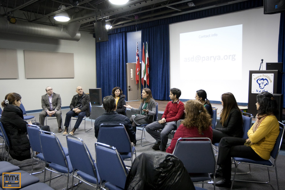 First meeting of Iranian Autism Association in Toronto