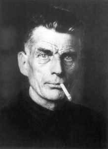 Samuel Beckett, Irish writer who was awarded with Nobel Prize for Literature