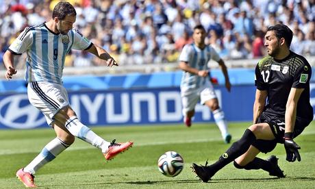 Argentina v Iran