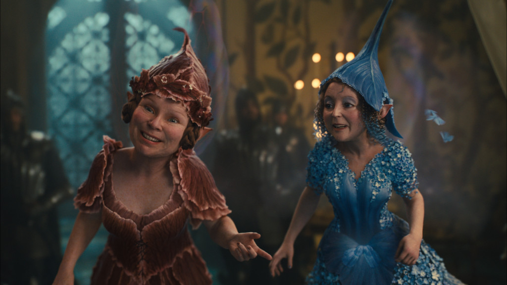 L to R: Knotgrass (Imelda Staunton) and Flittle (Lesley Manville)