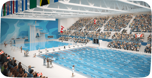 CIBC Pan Am Parapan Am Aquatics Centre and Field House