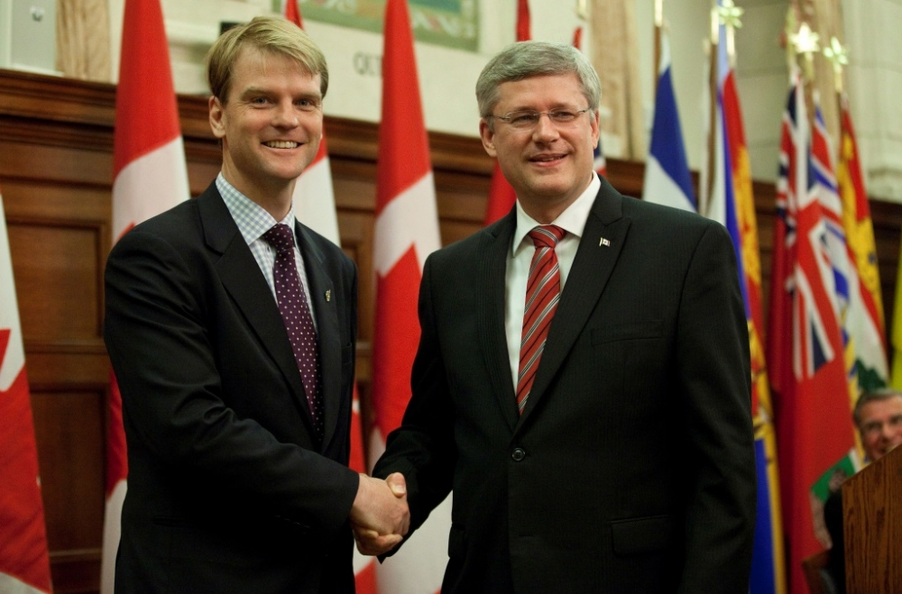 Minister of Citizenship and Immigration Chris Alexander (left) maintains Bill C-24 includes many benefits for people new to Canada.
