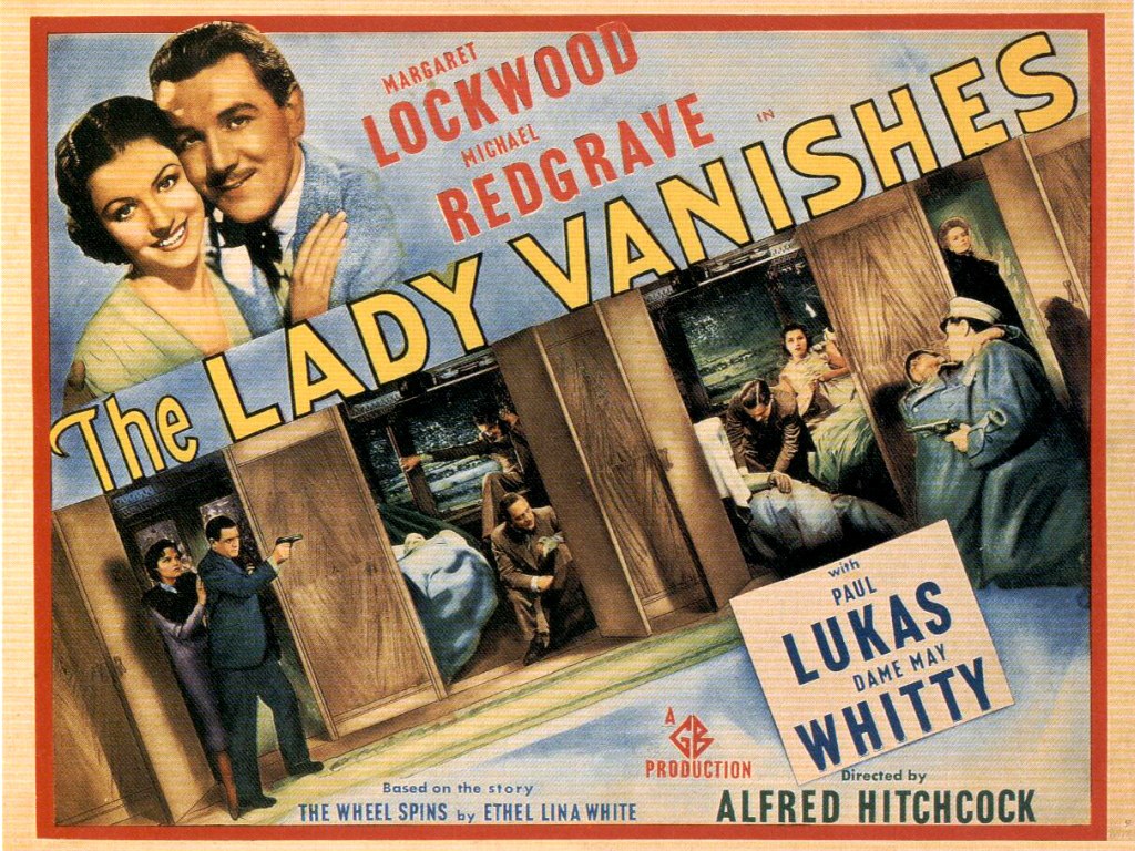 Alfred Hitchcock, the lady vanishes - 1938