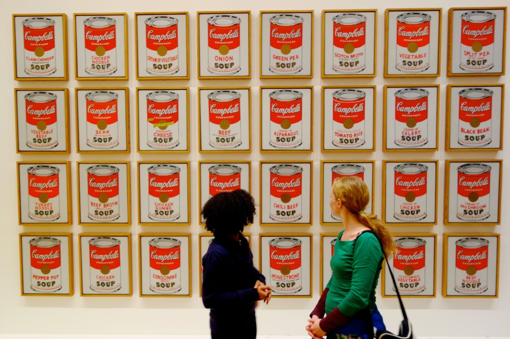 Andy Warhol Tomato Soup Poster