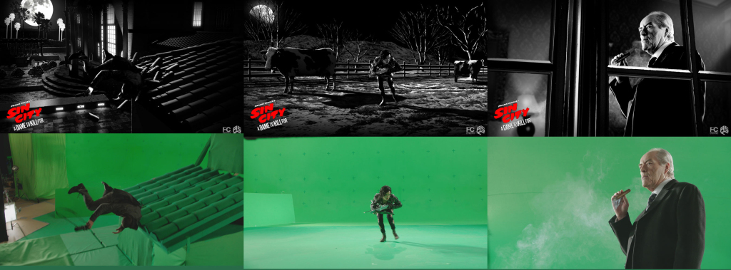 Sin City 2 - Behind the Scene