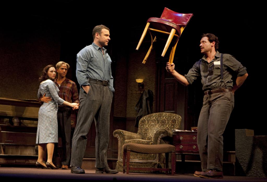 Arthur Miller's A VIEW FROM THE BRIDGE, starring Tony Award-winner Liev Schreiber and Golden Globe nominee Scarlett Johansson