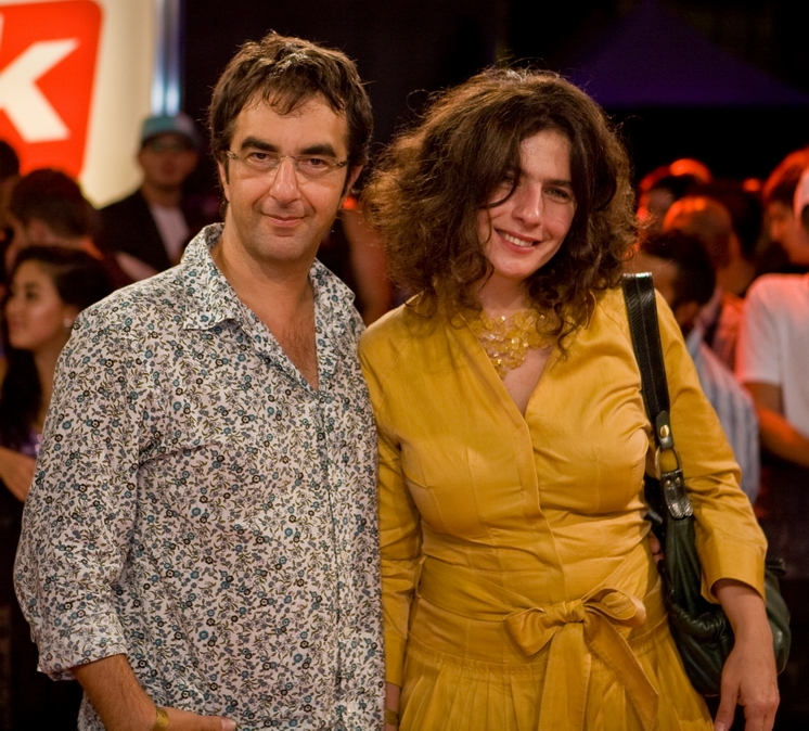 Arsinee Khanjian & Atom Egoyan