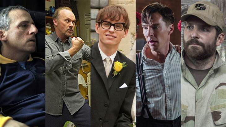 Oscards Best Actor Nominees 2015