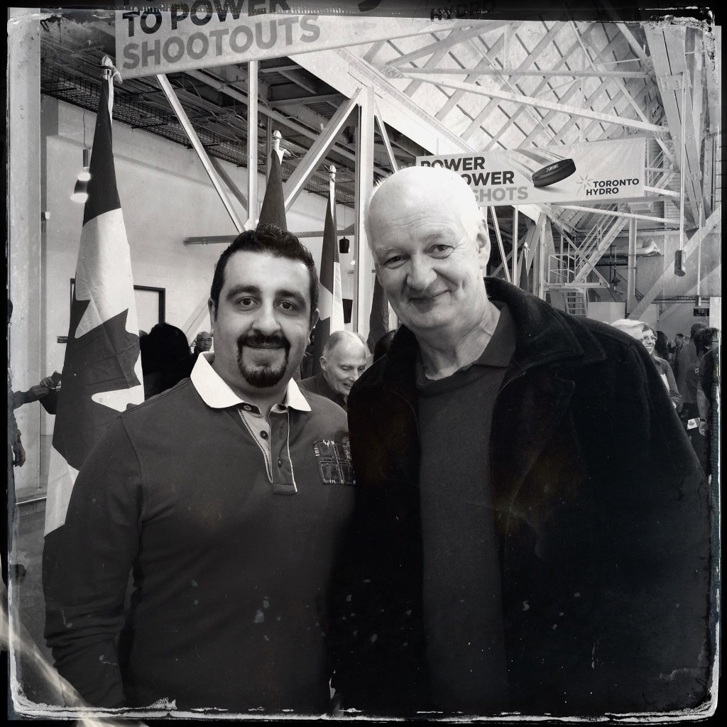 Pooyan Tabatabaei and Colin Mochrie
