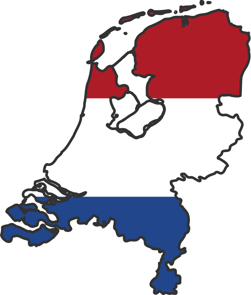 Netherlands_flag_map