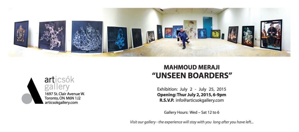 """Mahmoud Meraji """"Unseen Boarders"""""""