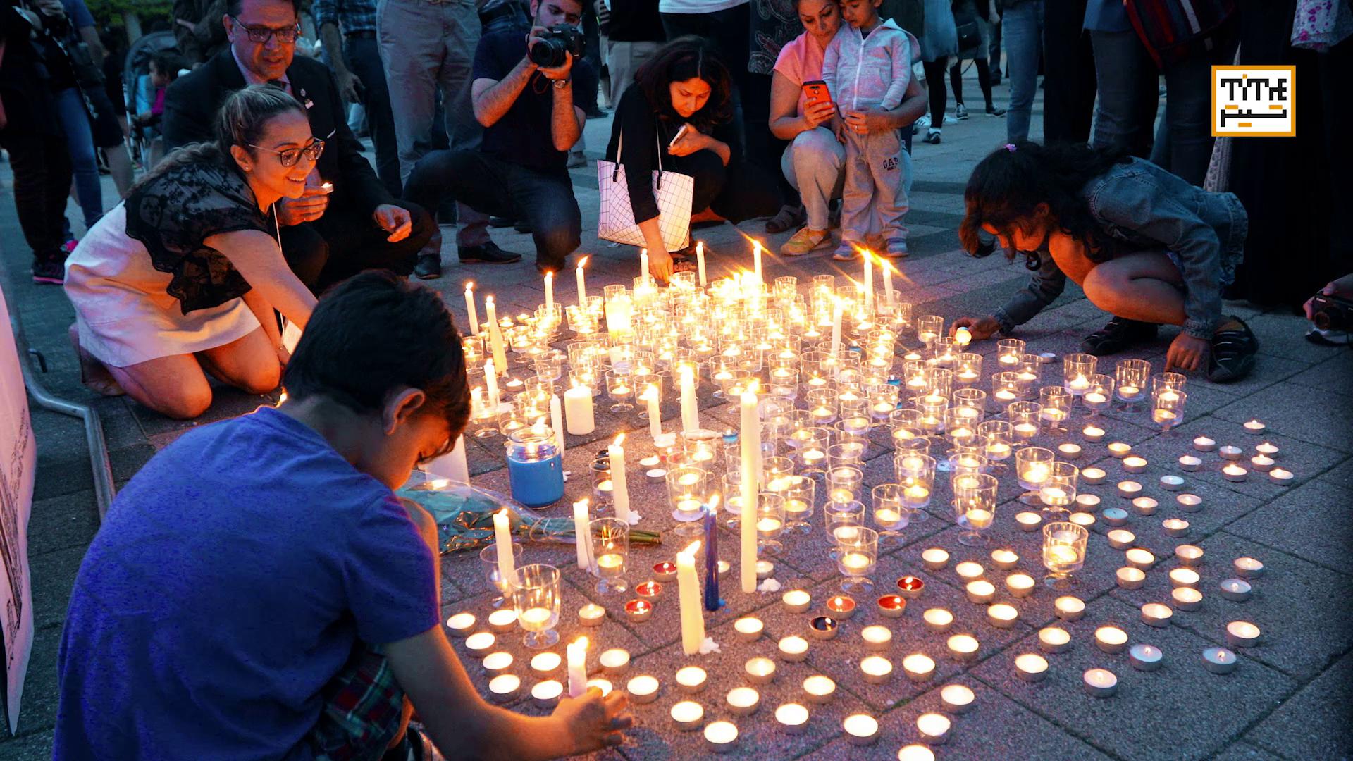 Photo of ایرانیان تورنتو برای قربانیان تهران شمع روشن کردند