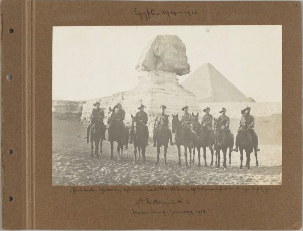 Captain Basil Wood Bourne – Egypt 1914 - 1916