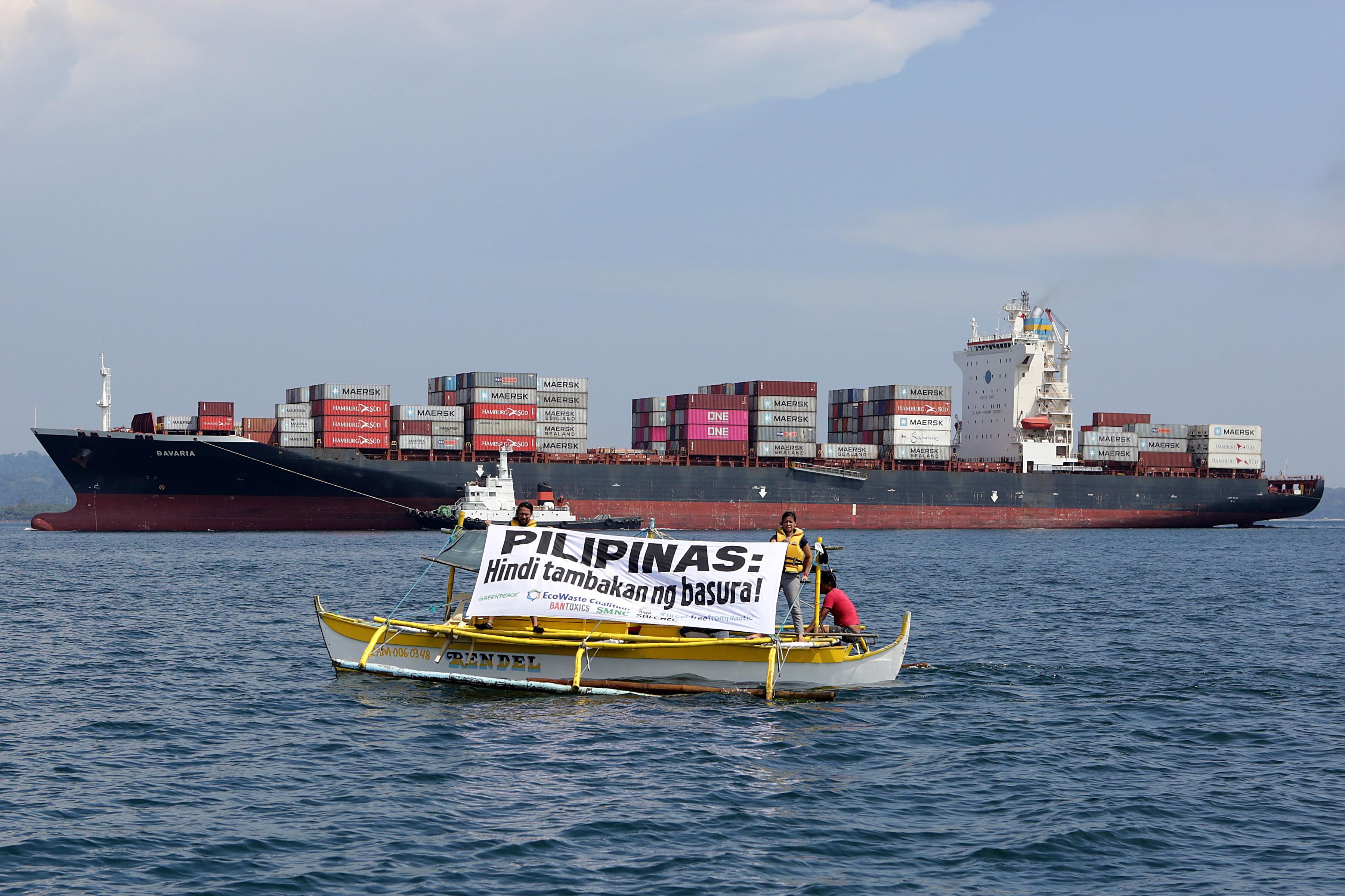 Photo of بازگشت زباله ها از فیلیپین به کانادا