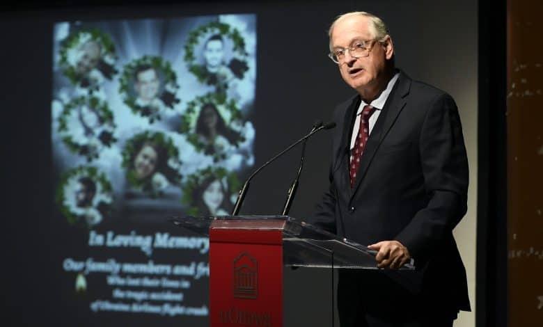 University of Ottawa president Jacques Frémont